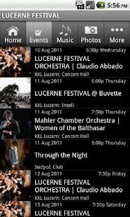 LUCERNE FESTIVAL - screenshot thumbnail
