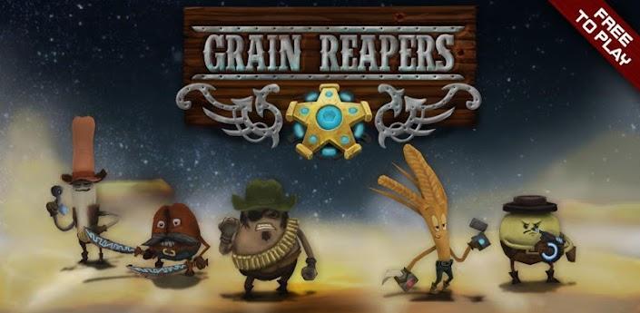 Grain Reapers - забавная стратегия для андроид с элементами экшена