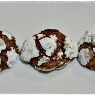 Cracked Chocolate Cookies.