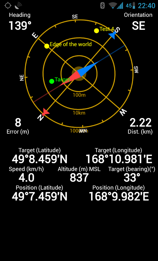 GPS Status PRO - key - screenshot