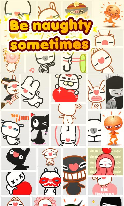 My Chat Sticker - screenshot