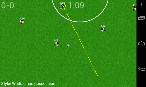 Soccer for Android  screenshots 2