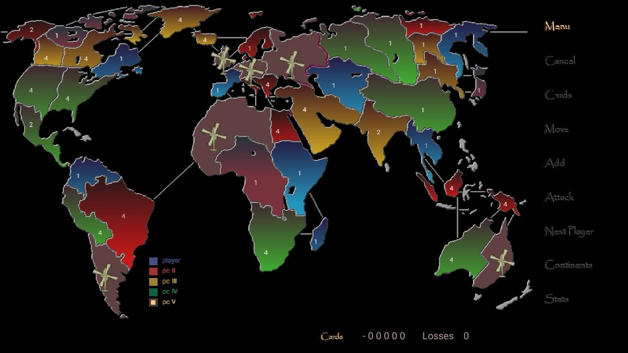 Empire XP Lite ( risk game )- screenshot