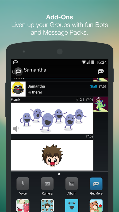 Palringo Group Messenger Android App