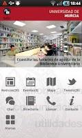 Screenshot of Universidad de Murcia App
