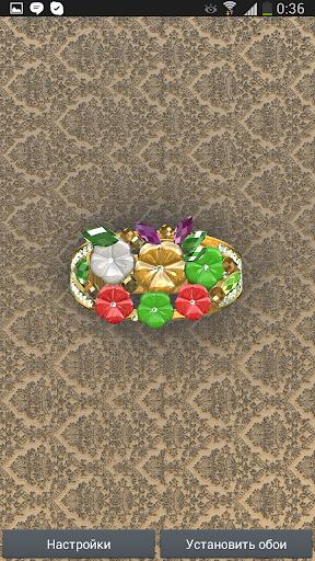 RingGold 3D Live Wallpaper