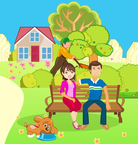 Kissing Game-Garden Romance 3.0.3 screenshots 2