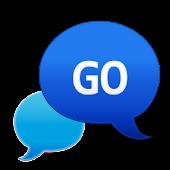 GO SMS - Bubble Blue