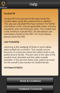 Southwire conduit fill calc apps on google play screenshot image greentooth Gallery