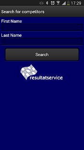 Resultatservice- screenshot thumbnail