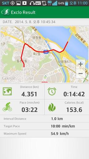 エクロー exclo GPSサイクリング 自転車