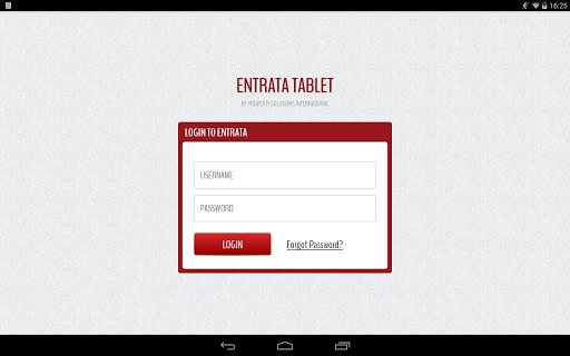 Entrata Tablet