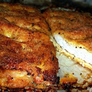 Baked Parmesan Pork Chops!