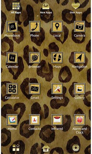 Chic Wallpaper Classic Leopard 1.1 Windows u7528 2