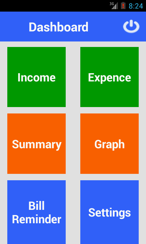 DAILY EXPENSES MANAGER - screenshot