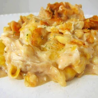 Dorito Chicken & Cheese Casserole