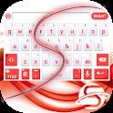 SlideIT Abstract Red Skin icon