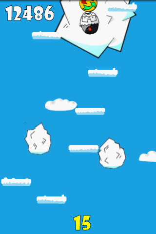 EggMan Jump- screenshot