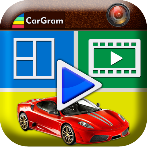 CarGram Video Frame Collage 攝影 App LOGO-APP試玩