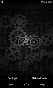 Gears 3D Live Wallpaper - screenshot thumbnail