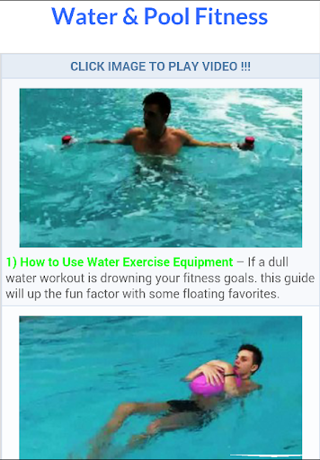 Water Pool Fitness