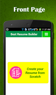 curriculum vitae easy resume builder apps on google play