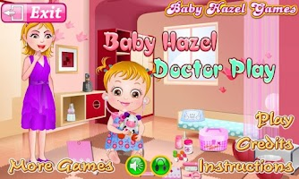 Screenshot of Baby Hazel Doctor Play