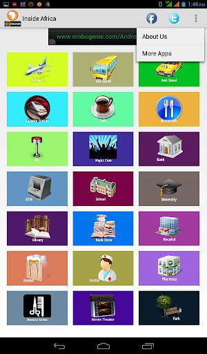 Inside Africa - Guide App