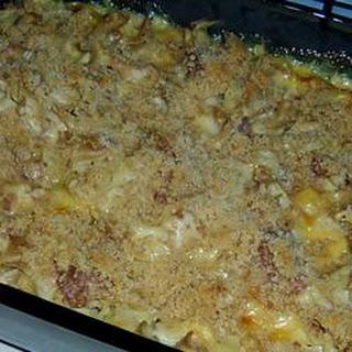 Corned Beef Noodle Casserole