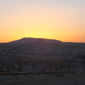 Kapadokya by Halime Pelitçi - Landscapes Sunsets & Sunrises ( kapadokya )