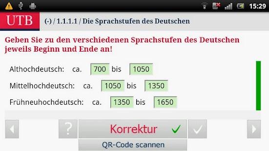 Alt- und Mittelhochdeutsch- screenshot thumbnail