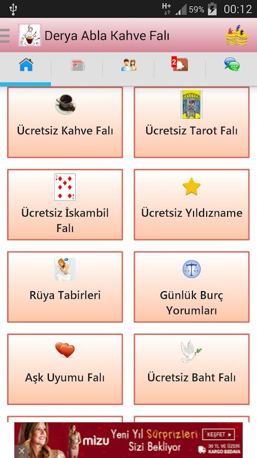 Derya Abla Ücretsiz Kahve Falı- screenshot