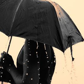 by Sumanta Thakur - Black & White Portraits & People