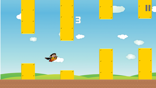 Flying Zuperman apk screenshot