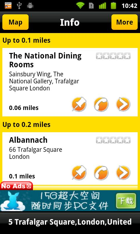 Where To Eat? GPS Food Finder- screenshot