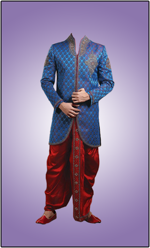 Man Sherwani Photo Suit