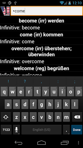 mod English Verbs  screenshots 4