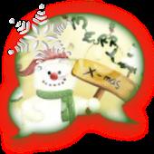 GO SMS - Winter Wonderland