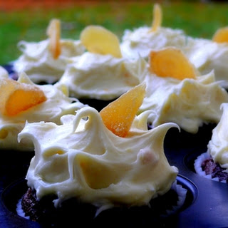 Gingerbread Cupcakes with Orange Icing Recipe