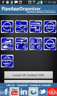 Pipe Calculator Organizer - screenshot thumbnail