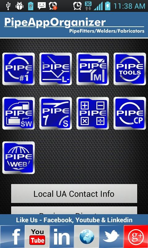 Pipe Calculator Organizer - screenshot
