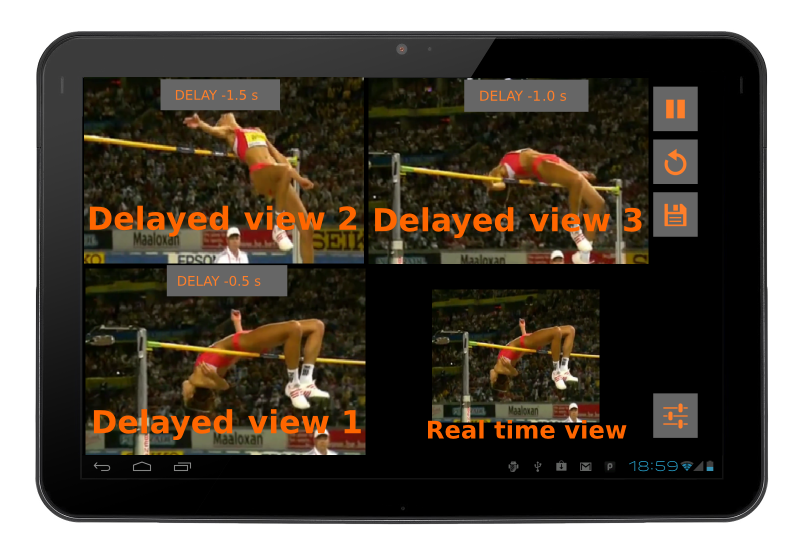 Video Coach - Delay Mirror- screenshot