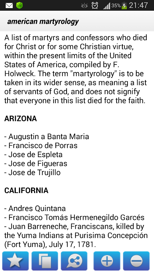 Catholic Bible Dictionary- screenshot