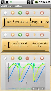 MathScript Scientific Calc - screenshot thumbnail