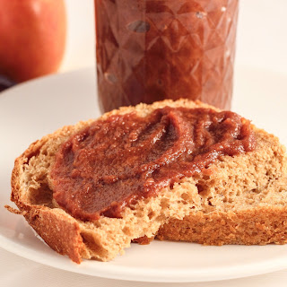 Slow Cooker Apple Butter- No Refined Sugar
