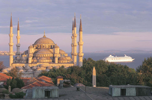 Crystal_Symphony_Istanbul - Visit Istanbul, Turkey, and experience the history and culture of this ancient city during a Crystal Symphony cruise.