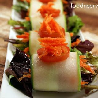 Cucumber Salad Wrap