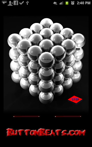ButtonBeats Dubstep Balls screenshot