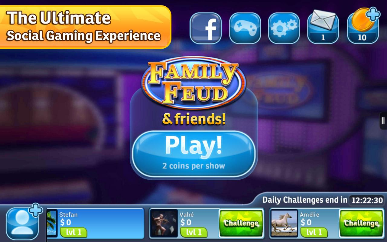 family feud and friends