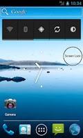 Screenshot of One Click - Screen Lock